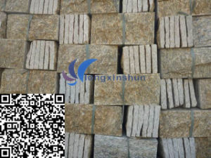 Natural Yellow Mushroom Granite Wall/Corner Cladding pictures & photos