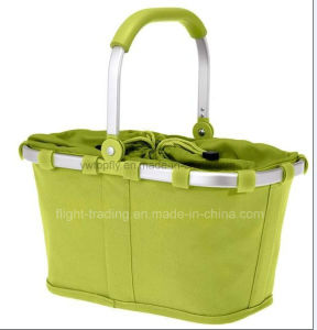 Multifunctional Supermaket Collapsible Shopping Basket for Travel Picnic Camping pictures & photos