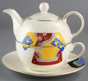Porcelain Teapot and Cup Manufacturer From China pictures & photos