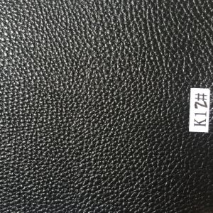 Black Synthetic Leather for Decoration etc pictures & photos