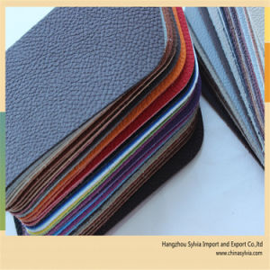 54/55′′ Width High Quality Car Seat PVC Artificial Leather pictures & photos