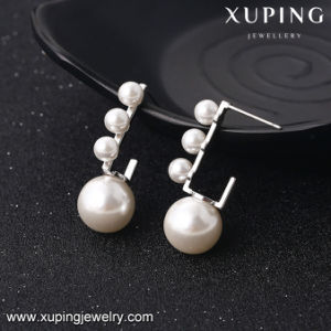 E-42 New Arrival Fashion Rhoudium Pearl Jewelry Earring pictures & photos