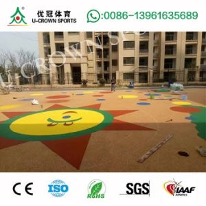 Economic Children Playground Safety Rubber Surface