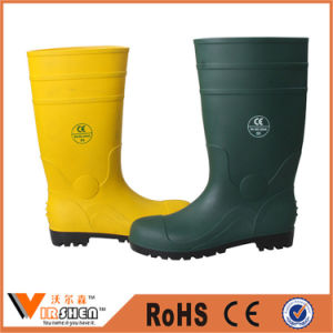 Ce Standard Safety Rubber Safety Working Waterproof Rain Boots pictures & photos