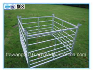 Galvanized Steel Sheep /Cattle Hurdles /Fence Pen /Fencing Panel with Loops pictures & photos
