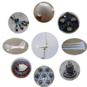 New Energy 500W 12V 24V 48V Wind Turbine Generator for Home pictures & photos