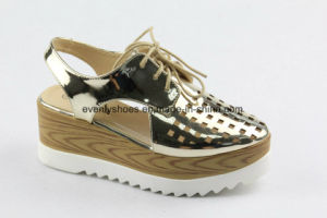 New Design Breathable Women Fashion Shoes for Casual Time pictures & photos