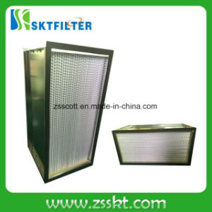 Fiberglass Material Compressed Air HEPA Filters pictures & photos