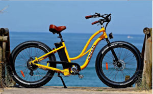 Powerful Beach Cruiser Fat Tyre Electric Bike for Ladies pictures & photos