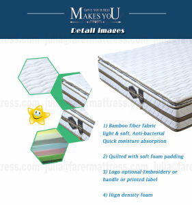 Luxury High Quality Aloe Natural Latex Mattress pictures & photos