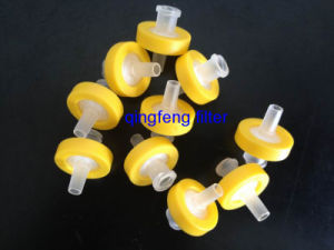 0.22micro Hydrophobic PTFE 13mm Syringe Filter for HPLC pictures & photos