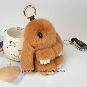 Superior Quality Safety Plush Stuffed Key Chain Rabbit pictures & photos