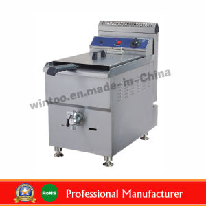 Top Sell Stainless Steel Kitchen Equipment Deep Gas Fryer pictures & photos