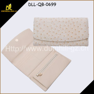 2016 PU Ostrich Leather Ladies Wallets pictures & photos