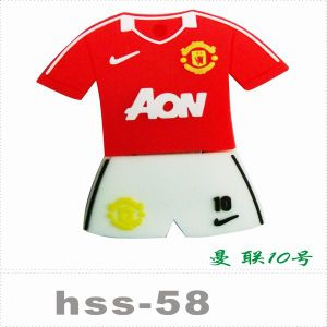 Football Jersey Style USB 2.0 USB Flash Drive pictures & photos