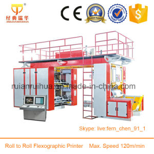 4 Color Flexographic Paper Printing Machine pictures & photos
