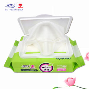 Easily Use Wipe out Makeup Remover Wet Feminine Cleansing Wipes pictures & photos