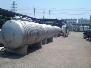 10m3 Stainless Steel Horizontal Storage Tank pictures & photos