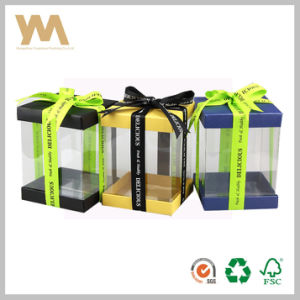 PVC Gift Packaging Box with Light Ribbon pictures & photos