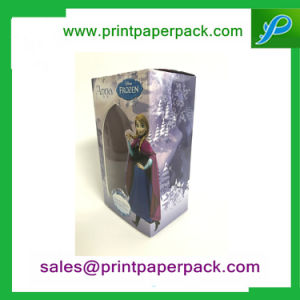 Custom Paper Packaging Folding Perfume Box with PVC Window pictures & photos
