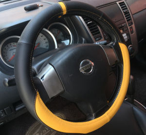 PU PVC Car Steering Wheel Cover pictures & photos