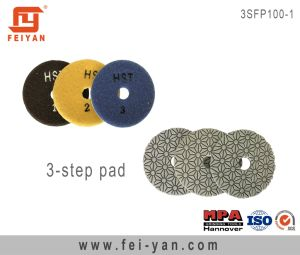 3-Step Flexible Polishing Pad pictures & photos