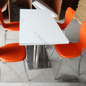 Acrylic Solid Surface Restaurant Tables for Decoration 0607003 pictures & photos