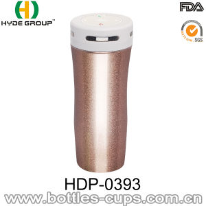380ml BPA Free Stainless Steel Double Wall Bluetooth Water Bottle (HDP-0393) pictures & photos