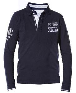 2017 New Design Custom Men Cotton Fashion Longer Sleeve Polo Shirts Garments (S8240)