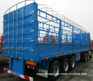 12.5 Meters Gooseneck Van Type Semitrailer pictures & photos