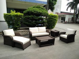 Garden Patio Wicker / Rattan Sofa Set - Outdoor Furniture (LN-3028) pictures & photos