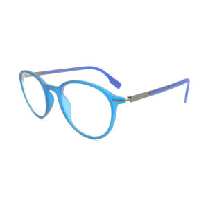 High Quality Tr8352-68 European Style Memory Function Round Box Optical Frames pictures & photos