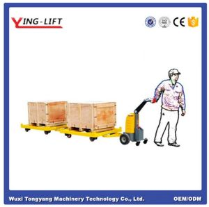 Load Capacity 500kg Mini Electric Tow Tractor for Sale pictures & photos