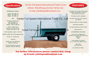 off-Road ATV Utility Farm Box Trailer pictures & photos