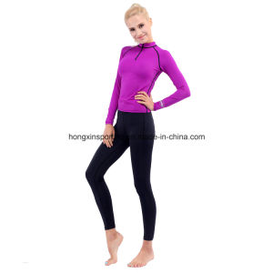 Two-Piece Lycra Rash Guard, Swimwear, Sports Wear, Surfing Suit & Diving Suit pictures & photos