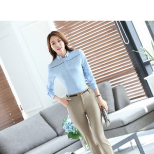 New Blouses for Women Formal Office Work Shirts Plus Size pictures & photos