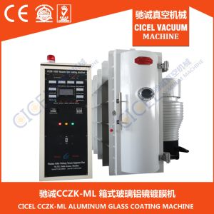 Ce Certified Glass Mirror Box Type Vacuum Aluminium Metallizng Machine for ABS Plastic Substrate pictures & photos