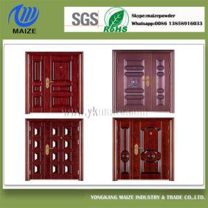 Transfer Effect Powder Coating for Steel Wooden Door pictures & photos