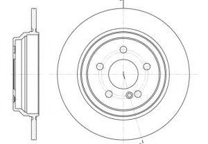 Auto Spare Parts Mercedes-Benz Brake Disc pictures & photos