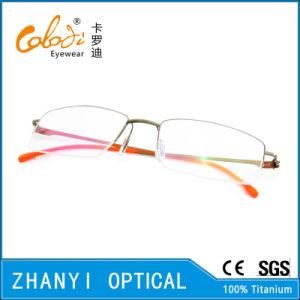 Simple Beta Titanium Eyeglass (8504) pictures & photos