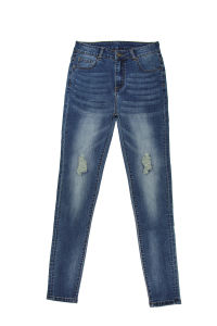 Ladies Fashion Skinny &Good Quality Wholesale Denim (MY-027) pictures & photos