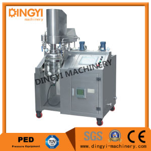 Cream Ointment Lotion Hair Color Vacuum Emulsifying Mixer Homogenizer (ZRJ-50) pictures & photos