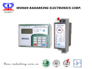Single Phase DIN Rail Mounting Keypad Split Prepaid/Prepayment Electrical Energy Meter pictures & photos