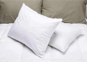 Cotton Fabric 1.2D Hollow Siliconized Fiber Hotel Pillow pictures & photos