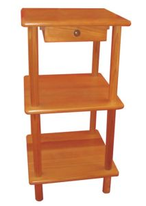 Chinese Fir Home Decoration Kitchenware Storage Rack pictures & photos