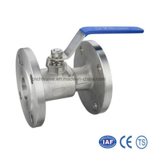 1PC Stainless Steel Flange Ball Valve pictures & photos