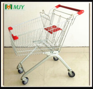 80 Liters European Style Shopping Trolley Mjy-80b-PU pictures & photos
