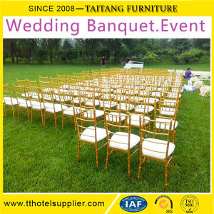 Wedding Event Metal Chiavari Chair Stackable Chair Aluminum&Iron Dining Furniture Color Option pictures & photos