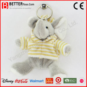 Cheap Stuffed Plush Animal Elephant Keyrings pictures & photos