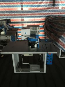 Ds-702A Automatic Thermo Cementing & Insole Binding Machine for Shoe pictures & photos